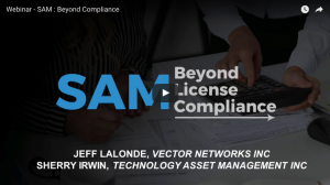 Webinar recording – SAM: Beyond Compliance